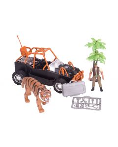 Tiger Rescue Play Set