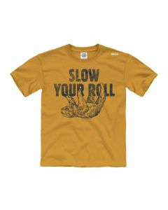 Youth Sloth Slow Your Roll Tee